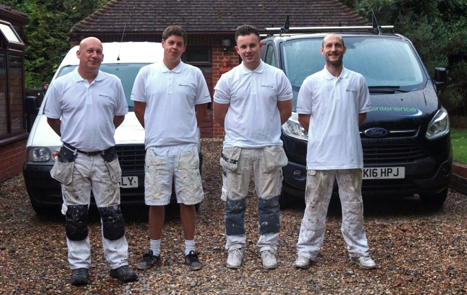 The Moores Maintenance Team