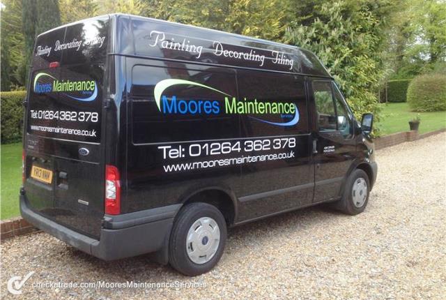 Moores Maintenance - Van